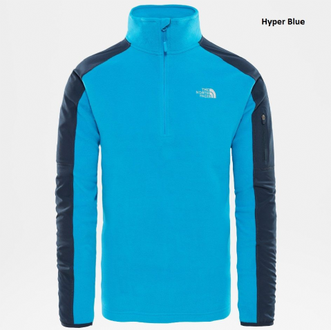 The North Face Mens Glacier Delta Quarter Zip